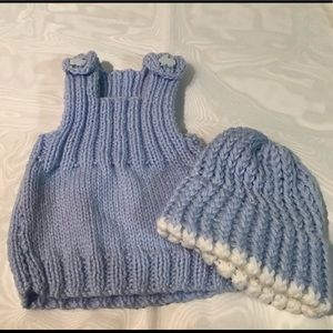 Other - Handmade jumper and beanie